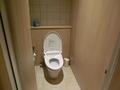 ロビーフロアそばのトイレ