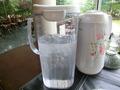 お水とお茶のポット