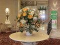 各所に置かれた美しい花