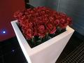 バラの花のオブジェ