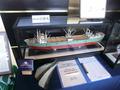 船の模型展示