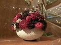 ロビーに置かれた花