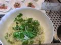 栗とサツマイモ入りのポテトサラダ