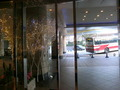 2012年クリスマスの正面玄関のイルミネーション