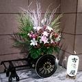 フロントの花