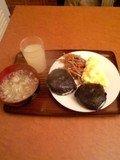 手作り感のある朝食♪