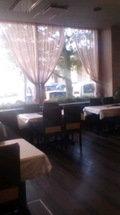 朝食会場です