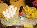 バナナとゆで卵♪