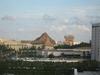 ヒルトンルーム(6F)からの眺望
