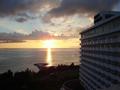 夕日がとてもきれい!