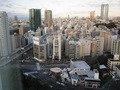 朝の景色(赤羽橋交差点付近)