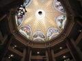 八角形の天井に描かれた女神たち
