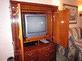 バルコニールーム ハーバービューの部屋のアナログテレビ