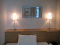ベッド両サイドの明かり
