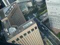 都庁の展望室から見たハイアットリージェンシー東京