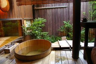 すべてのお部屋に内風呂が。