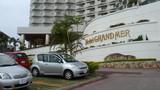 入口あたりはリゾートホテルっぽいけど。