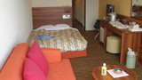 シングル部屋のあるリゾートホテル