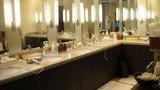 山田温泉の洗面スペース