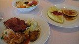 フォーシーズンで朝食。オムレツも美味しかったですー