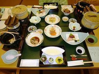 あわら温泉 青雲閣(夕食)