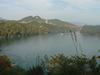露天風呂からの恵那湖の絶景