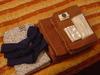 バスタオルは茶色