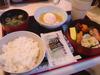 朝食の和食セット(850円)