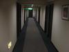 廊下はごく一般的なホテルです