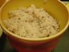 麦入りご飯