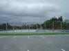 テニスコートも併設されている日航アリビラ