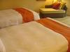 適度な固さで心地よかったベッド