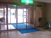 ホテルソシアの玄関