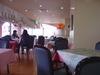 テーブルが広々でゆったり