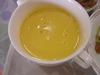 温かいコーンスープ