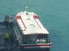 大型の送迎船も完備