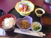 日替わり定食の『刺身定食』