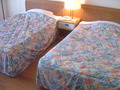 和洋室のツインベッド