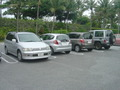 一番近い駐車場ですが・・・
