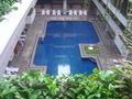利用客の少ない室内プール