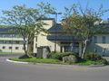 ホテル玄関前のロータリー