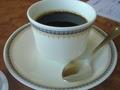 オシャレなカップのコーヒー