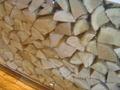 薪が用意されていました