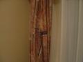 厚いカーテン