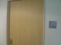 木目調のドア