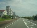 幹線道路沿い