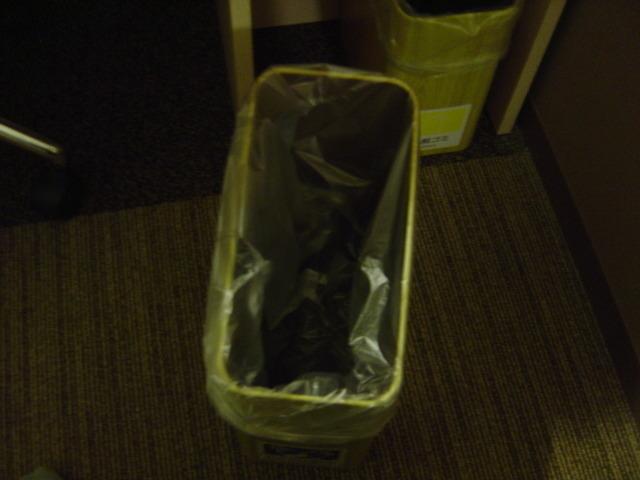 ゴミ箱について