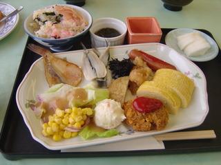休暇村 讃岐五色台の朝食バイキング