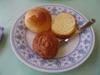 休暇村 讃岐五色台の朝食バイキングの焼きたてパン