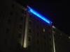 夜の外観と意外な活用法(ホテル日航ハウステンボス)